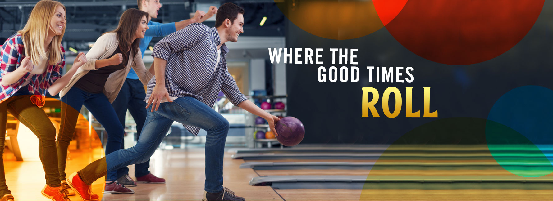 Bowling and Having a Good Time